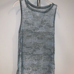 American Eagle Cut Out Tank Top Long